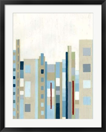 Framed Broadway Horizon II Print