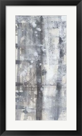 Framed Grey Matter I Print
