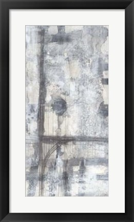 Framed Grey Matter II Print