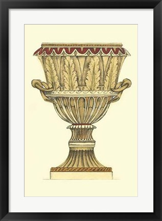 Framed Neutral Urn Sketch II Print