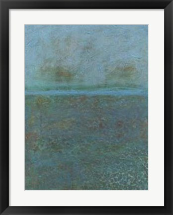 Framed Aegean Sea II Print