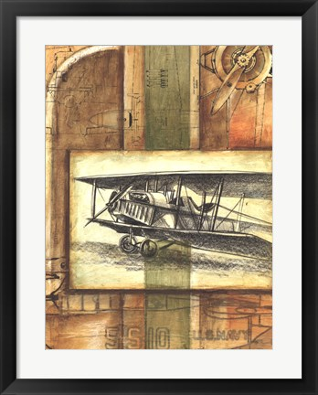 Framed Theory of Flight II Print