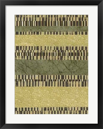 Framed Linear Layers I Print