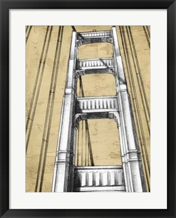 Framed Modern Engineering II Print