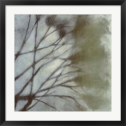 Framed Diffuse Branches II Print