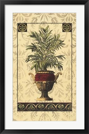 Framed Palm of the Islands II Print