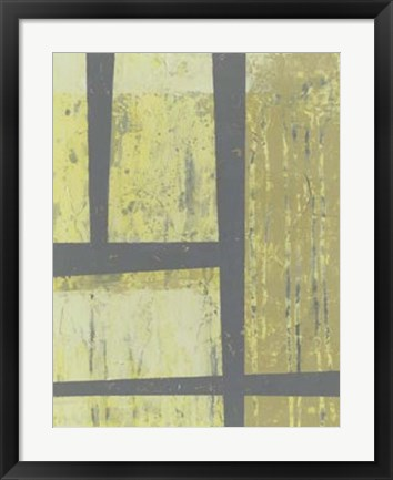 Framed Zest Abstract II Print