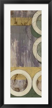 Framed Concentric II Print