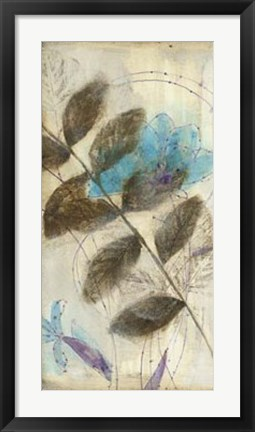 Framed Constellation Flowers III Print