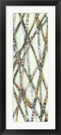 Framed Lemongrass III Print