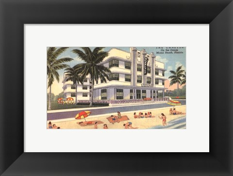 Framed Miami Beach III Print