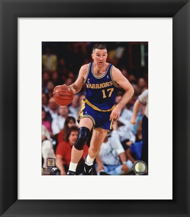 Framed Chris Mullin 1991 Action Print