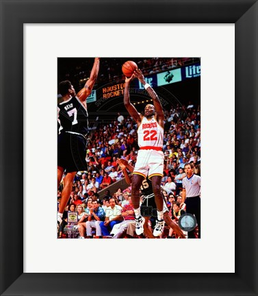 Framed Clyde Drexler 1994-95 Action Print
