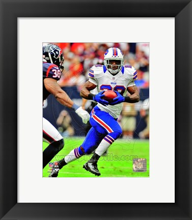 Framed C.J. Spiller 2012 Action Print