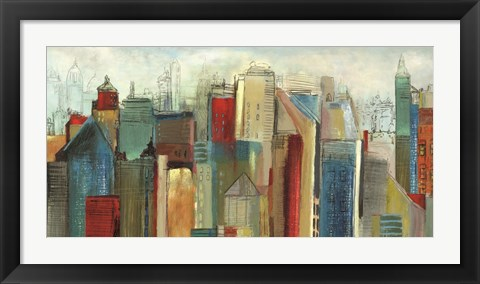 Framed Sunlight City Print