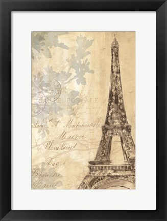 Framed Architectural   Study II Print