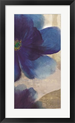Framed Shades of Indigo II Print