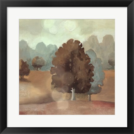 Framed Perry Hill II Print