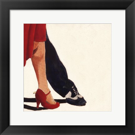 Framed Dance with me Print