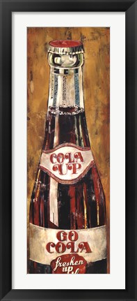 Framed Cola Up Print