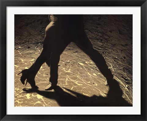 Framed Tango in controluce Print