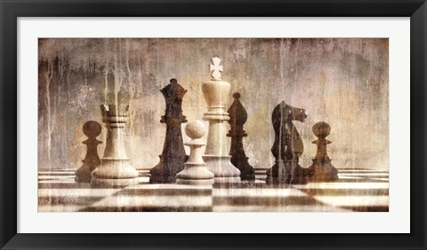 Framed Chess Print