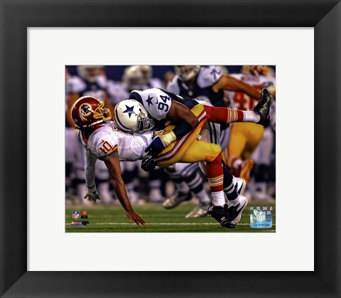 Framed DeMarcus Ware 2012 Action Print