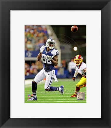 Framed Dez Bryant 2012 in action Print