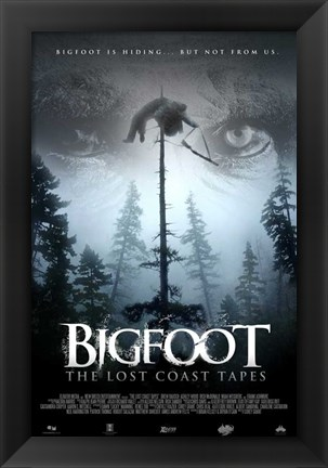 Framed Big Foot: The Lost Coast Tapes Print
