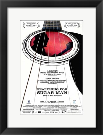 Framed Searching for Sugar Man Print