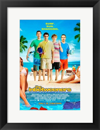 Framed Inbetweeners Movie Print