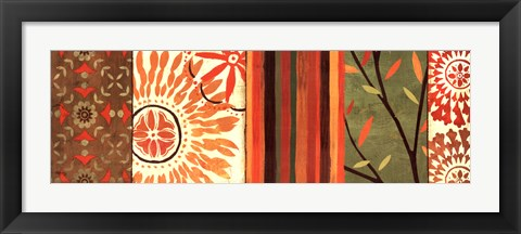 Framed Abstract Nature IV Print