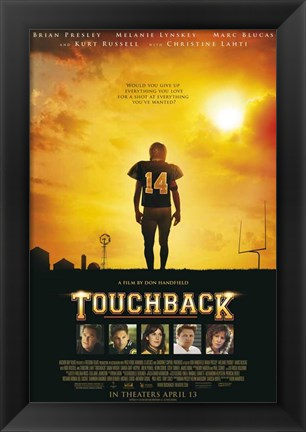 Framed Touchback Print