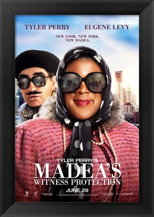 Framed Tyler Perry's Madea's Witness Protection Print