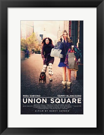 Framed Union Square Print