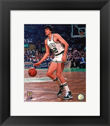 Framed Kevin McHale 1983 Action Print
