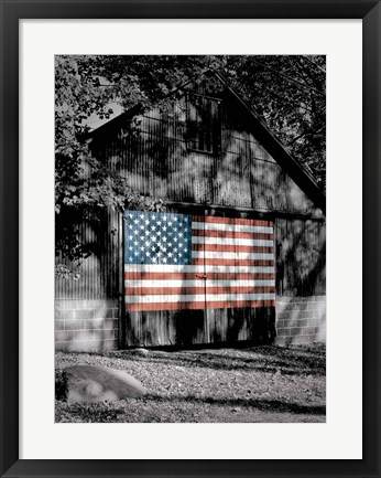 Framed Made in the USA Print