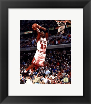 Framed Michael Jordan 1994-95 Action Print