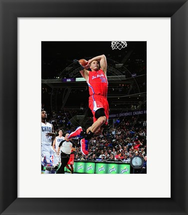 Framed Blake Griffin 2012-13 Action Print