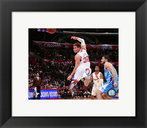 Framed Blake Griffin 2012-13 Basketball Print