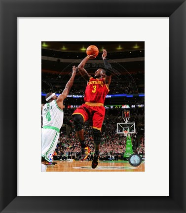 Framed Dion Waiters Shooting The Basketball Print