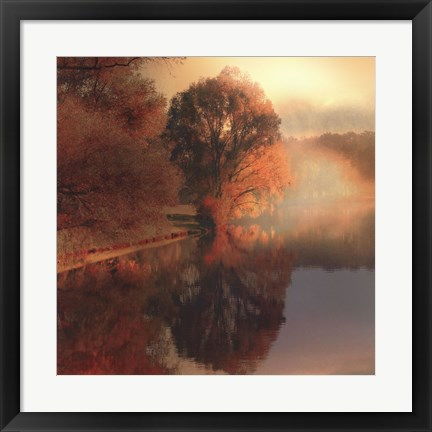 Framed Summer Reflections Print