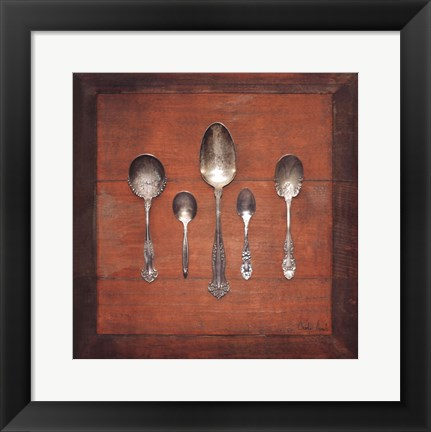 Framed Meal Time II Print