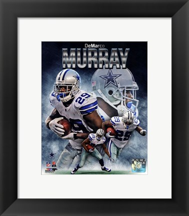 Framed DeMarco Murray 2013 Portrait Plus Print