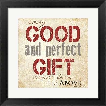 Framed Perfect Gift Print
