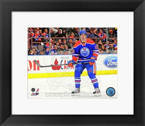 Framed Justin Schultz 2012-13 Action Print