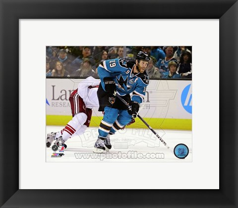Framed Joe Thornton 2012-13 Print