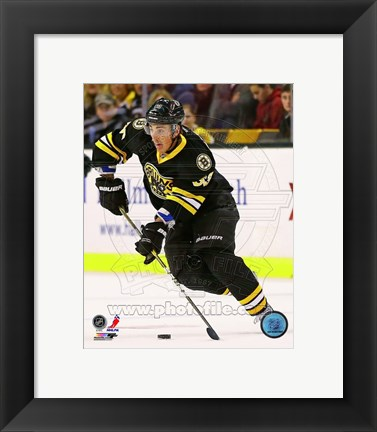 Framed Brad Marchand 2012-13 Action Print