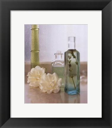 Framed Spa Setting III Print