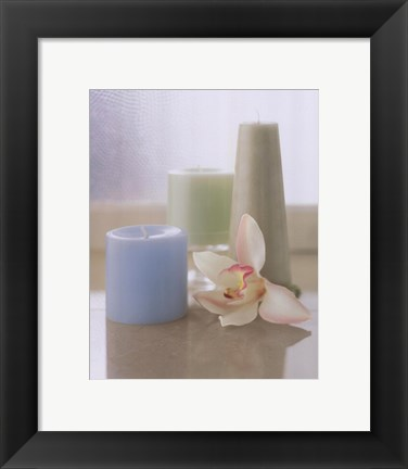 Framed Spa Setting IV Print